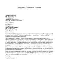 Pharmacyechnician Cover Letter Resume Badak Internship Non