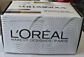 a look inside the influenster l oreal voluminous vox box with reviews and swatches