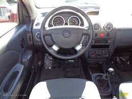 2006 Chevrolet Aveo LT Hatchback Charcoal Dashboard Photo ...