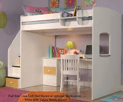 full size loft bed bedroom furniture beds berg with desk underneath plans 2