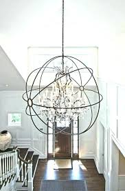 high ceiling chandelier exotic foyer lighting chandeliers for ceilings medium size of pendant modern