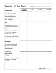 expository essay rubric expository writing rubrics graphic  expository essay rubric expository writing rubrics graphic organizers lesson and other types of writing resources expository