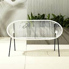 white garden furniture. White Outdoor Furniture Modern Garden Chair A