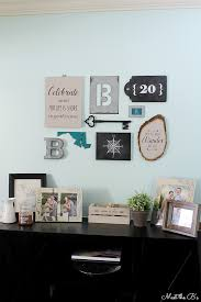 diy modern industrial collage wall sources how tos