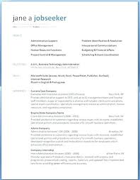 Free Professional Cv Template Word Free Resume Templates For