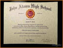 Sample High School Diploma Rome Fontanacountryinn Com