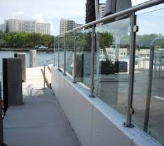 stainless steel and glass railing system spg2 2000
