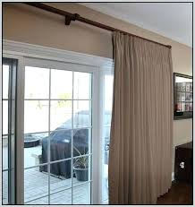 large sliding glass doors curtains for door curtain rod big cost