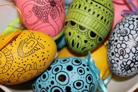 Easter Egg Designs Ideas North Texas Kidseaster Egg Decorating Idea 2 Doodled Eggs