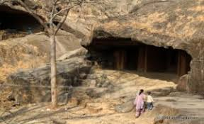Image result for KANHERI CAVES