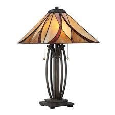 quoizel asheville table lamp in valiant bronze