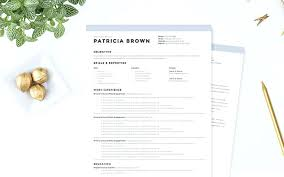 Clean Resume Template Classy Clean Resume Template Trenutno