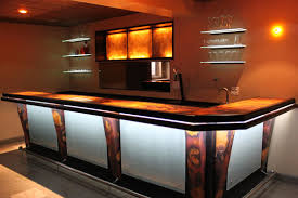 bar top lighting. Commercial Copper Bar Top Installation Lighting A