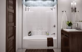 remodel tub shower units bathroom charming one piece bathtub shower enclosures tub combo installation with