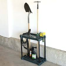 stalwart compact garden tool storage rack fits over tools furniture hand ideas