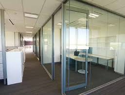 glass partition in dubai