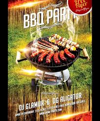 Barbecue Flyers 17 Bbq Party Flyers Word Psd Vector Eps Indesign Pdf