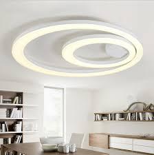 bedroom light fixtures. White Acrylic LED Ceiling Light Fixture Flush Mount Lamp Restaurant Bedroom Fixtures