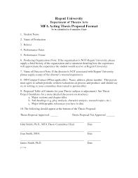 Dissertation Writing Format Thesis Proposal 612520 Write Apa Example