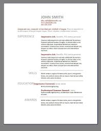 Modern Cv Template Word Free Download Cover Letter Template For