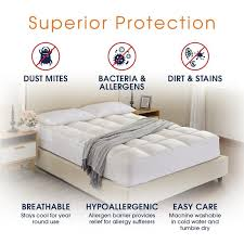 hypoallergenic mattress topper. Modren Hypoallergenic Cheer Collection Ultra Soft Mattress Topper  Silky Smooth And Plush Hypoallergenic  Pad And N