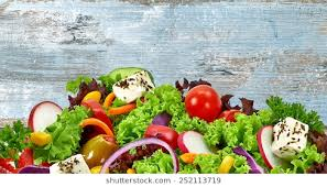 salad background. Plain Salad Mediterranean Salad With Feta Cheese Detail On Grungy Background Copy  Space And Salad Background Shutterstock