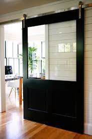 dramatic sliding doors separate. Love The Large Glass Panel For Light To Travel Through Fresh Take On Sliding Barn Doors In A Modern Washington State Farmhouse With Interior Design By Dramatic Separate D