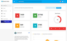 Material Admin Simple And Free Html5 Material Admin Template