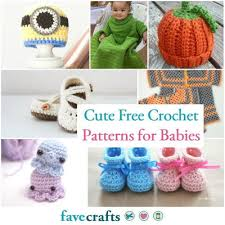 Cute Crochet Patterns Enchanting 48 Cute Free Crochet Patterns For Babies FaveCrafts
