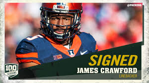 Packers sign LB James Crawford