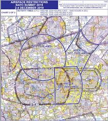 London Restriction Of Flying Regulations Nato Summit 2 4th