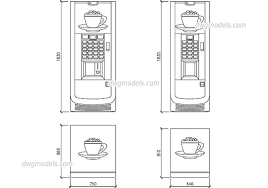 Vending Machine Cad Block Plan Delectable 48 Collection Of Vending Machine Cad Drawing High Quality Free