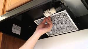 Kenmore Range Hood Light Bulb Replacement How To Replace A Kitchen Vent Hood Light Bulb And Filter
