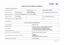 Nursery Business Plan Template Valid Business Contingency Plan ...
