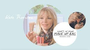kate thornton what s in your makeup bag