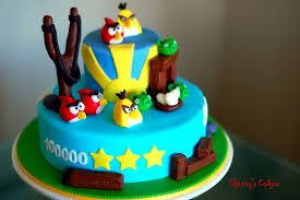 The Beancounter My Very Own Angry Birds Cake