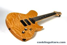 Custom Shop Quilt top Crossover 7 string guitar & Custom 7 String Guitar Quilted Maple Short Scale 1 Adamdwight.com