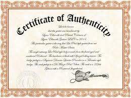Certificate Certificate Of Authenticity Lynn Ellsworth Guitars 15