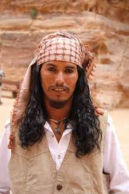 young bedouin in petra jordan that resembles capn jack sparrow you will find that many men from that region have eyes lined with faces makeup