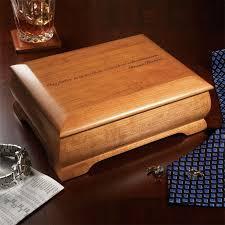 natural cherry commemorative box