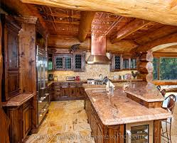 Pics Of Log Home Kitchens