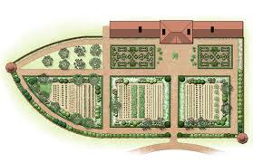 Planning A Kitchen Garden The Four Gardens At Mount Vernon A George Washingtons Mount Vernon