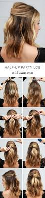 Hair Style Simple 18 easy halfup halfdown hairstyle tutorials for prom gurl 1465 by wearticles.com