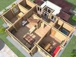 Планы домов 3д фото
