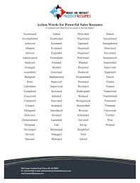 Bistrun List Of Resume Verbs Action Verbs List Resume Nice Power