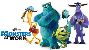 """Monsters At Work"""" Disney+ Series ..."""