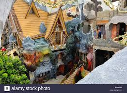 Da Lat,Vietnam - Feb 22,2015: Hang Nga guesthouse, popularly known ...