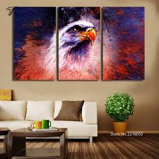 Small Picture Aliexpresscom Buy Unframed The Eagle Wall Art Canvas Home Decor