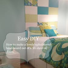 charming diy padded headboard easy pictures inspiration
