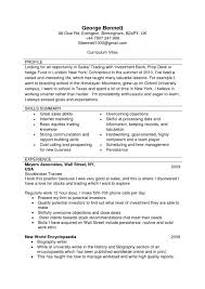 Resume Template Example Blank Cv Ireland 51 Templates Throughout